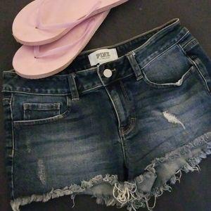 VS PINK demin shorts